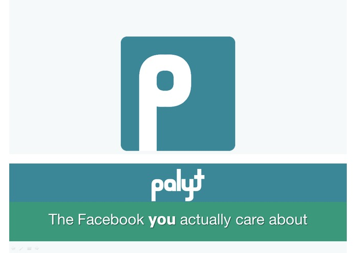 Palyt: The Facebook You Actually Care About – screenshot 1