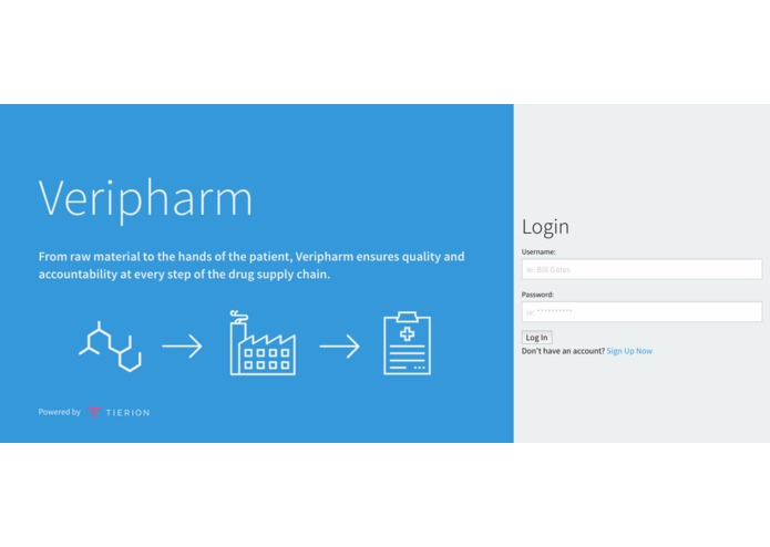 Veripharm – screenshot 1