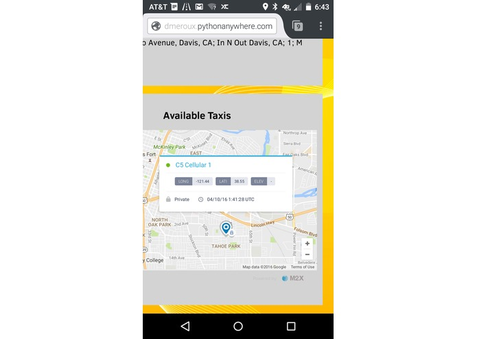 SMS_Taxi – screenshot 14