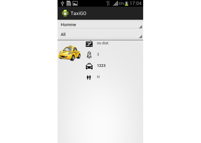 TaxiGO – screenshot 1