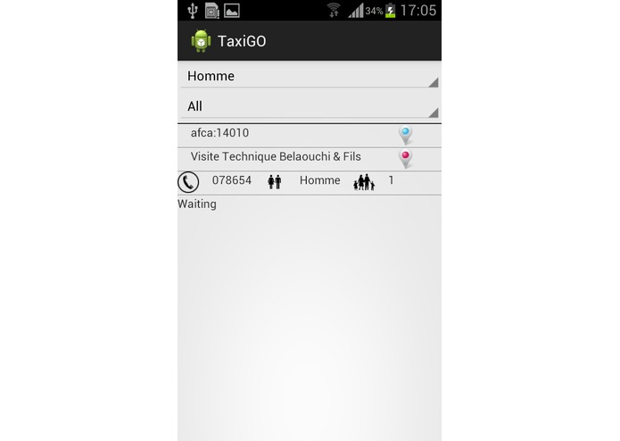 TaxiGO – screenshot 3
