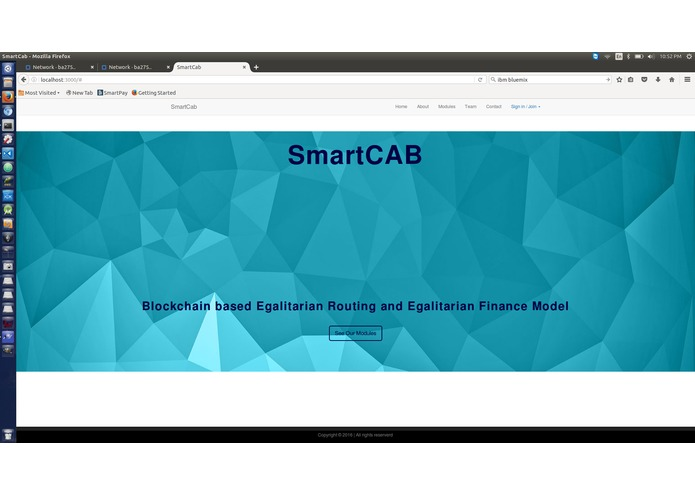 SmartCab – screenshot 1