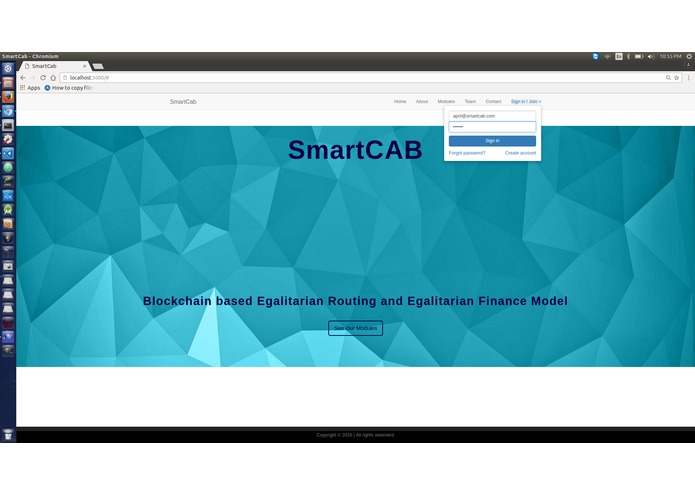 SmartCab – screenshot 2