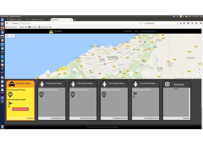 SmartCab – screenshot 3