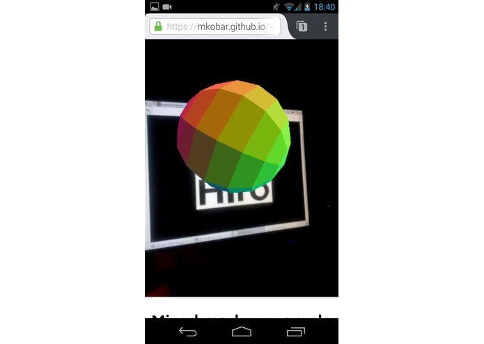 NoApp AR – screenshot 4