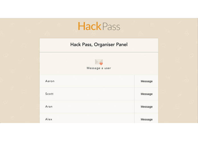 HackPass – screenshot 3
