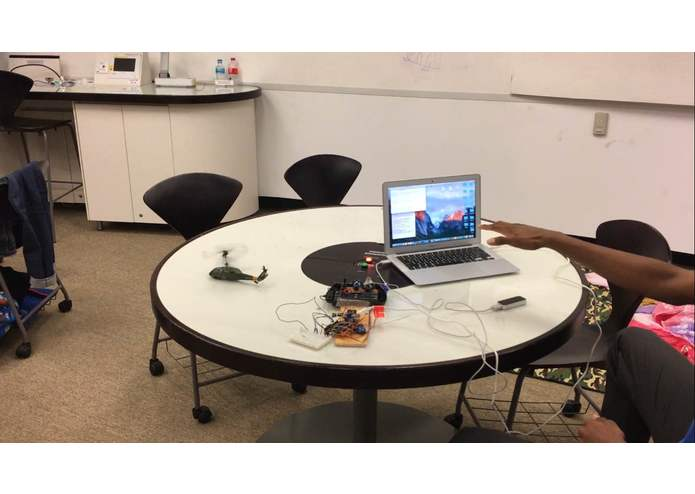 Leap Motion Controlled Helicopter - with Arduino  – screenshot 6