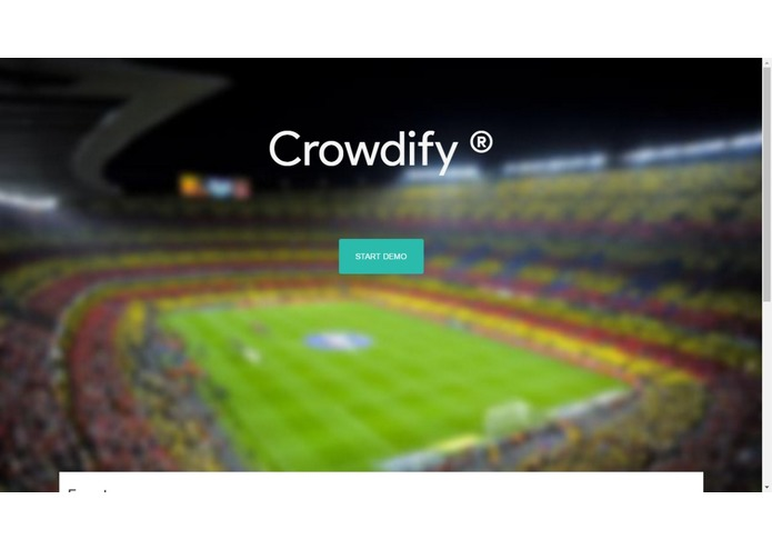 Crowdify – screenshot 2