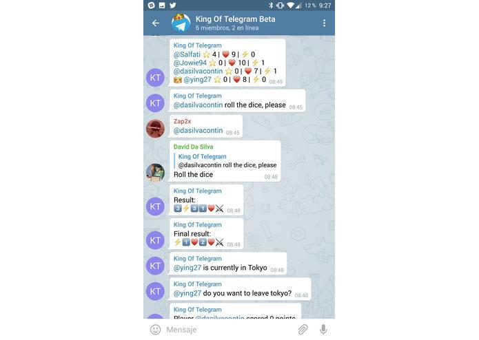 King of Telegram – screenshot 1