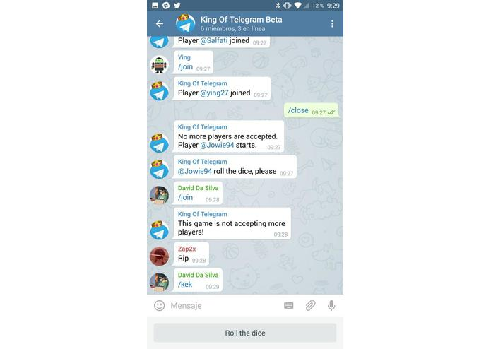 King of Telegram – screenshot 2