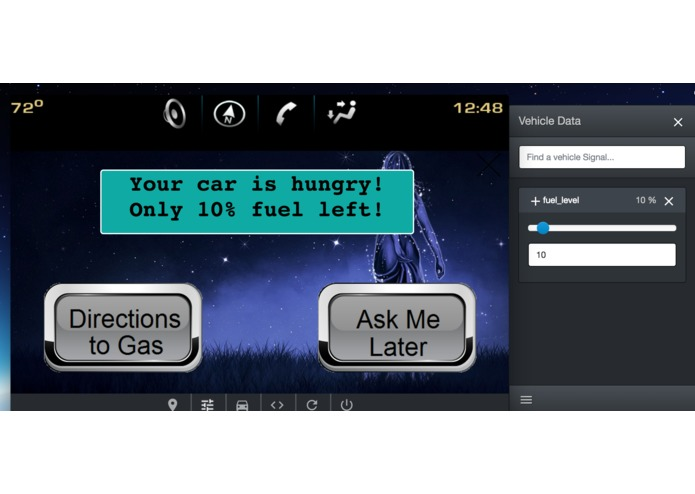 Feed the lovely car – screenshot 2