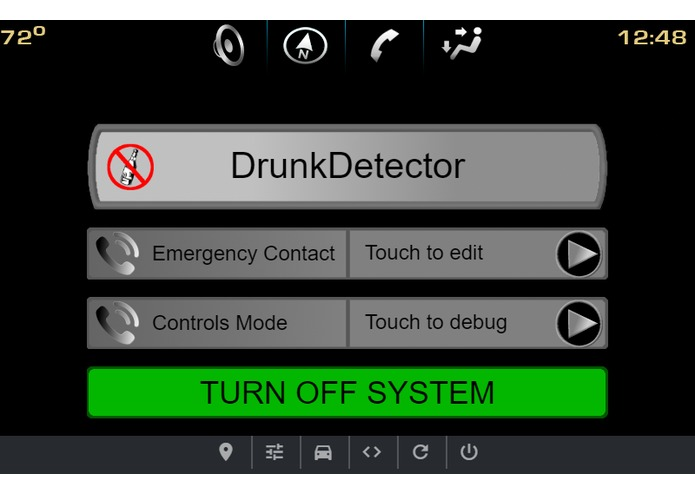 Drunk Detector – screenshot 1
