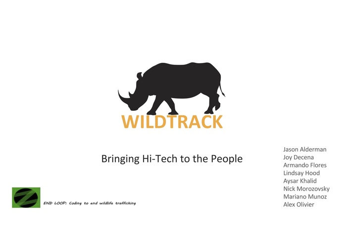 WildTrack – screenshot 1