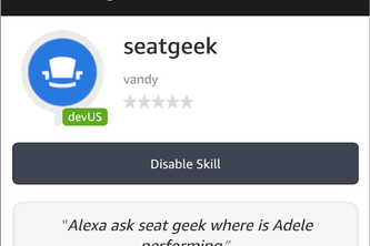 ASK SeatGeek