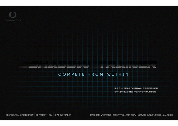 I'm developing a project called   SHADOW TRAINER – screenshot 2