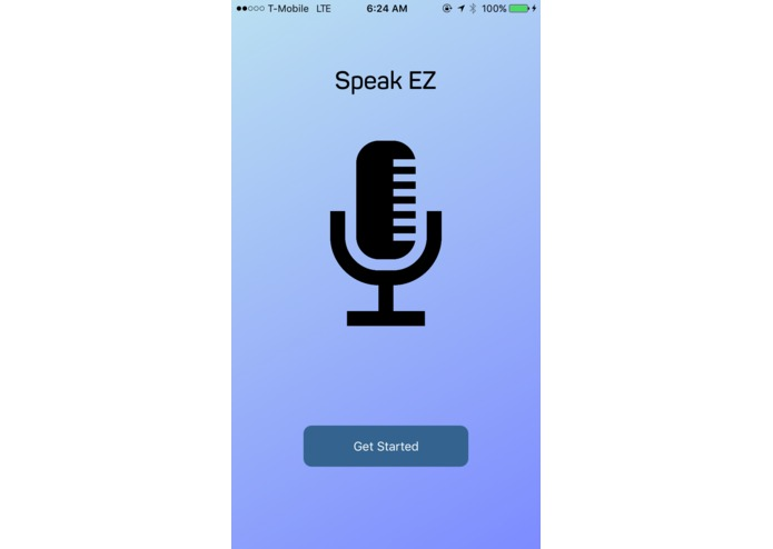 Speak EZ – screenshot 1