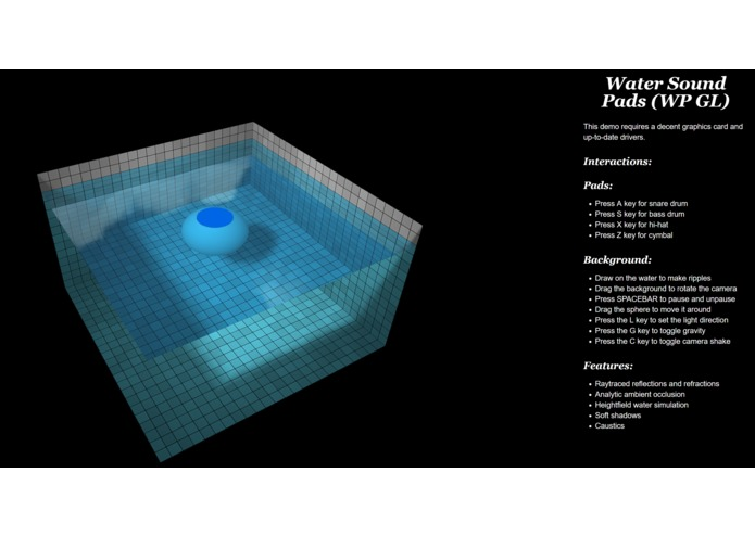 Water Sound Pad – screenshot 1