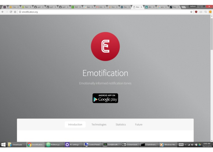 Emotification – screenshot 3