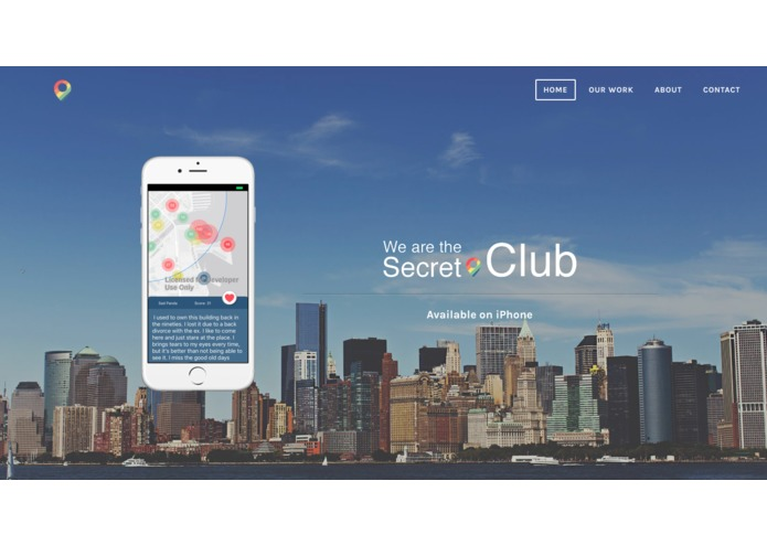 WeAreTheSecret.Club – screenshot 1