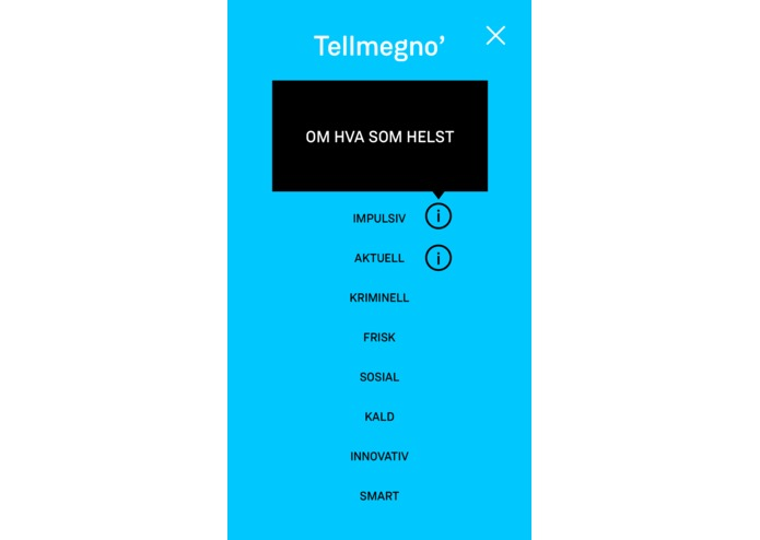 Tellmeg.no – screenshot 3
