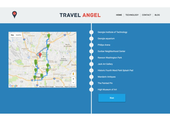 TravelAngel – screenshot 9