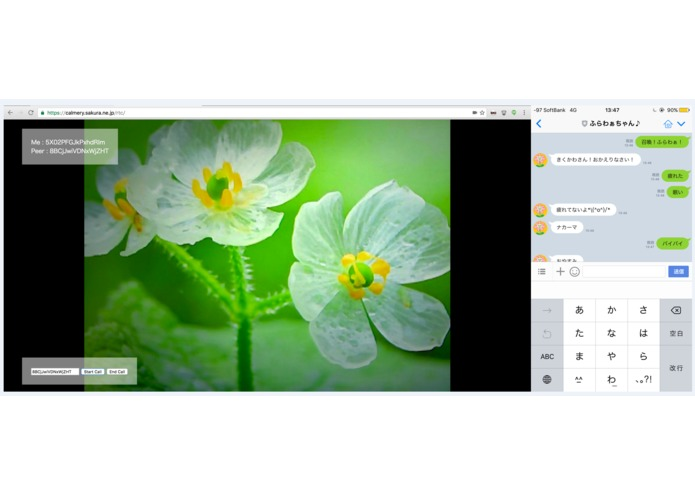 Flower Talk – screenshot 1
