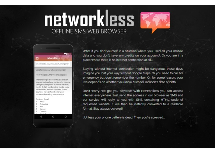 Networkless – screenshot 1
