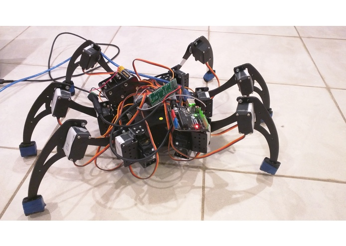 Hexapod Rescue Robot – screenshot 1