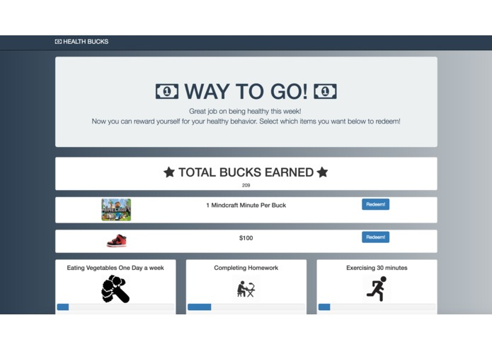 Health Bucks – screenshot 3
