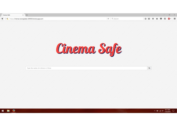 Cinema Safe – screenshot 1