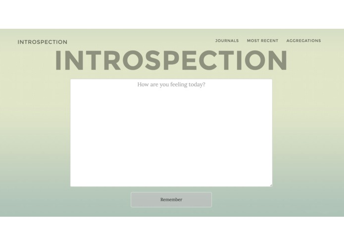 Introspection – screenshot 5