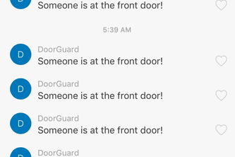 GuardBot - A Notifier for your Front Door!
