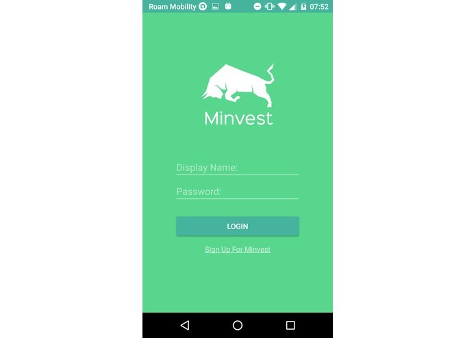 Minvest – screenshot 1