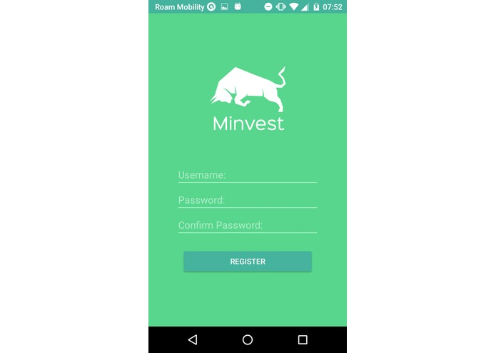 Minvest – screenshot 2