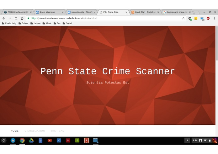 PSU Crime Scanner – screenshot 1