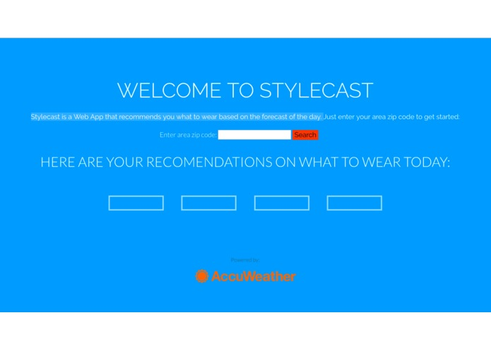 Stylecast – screenshot 1