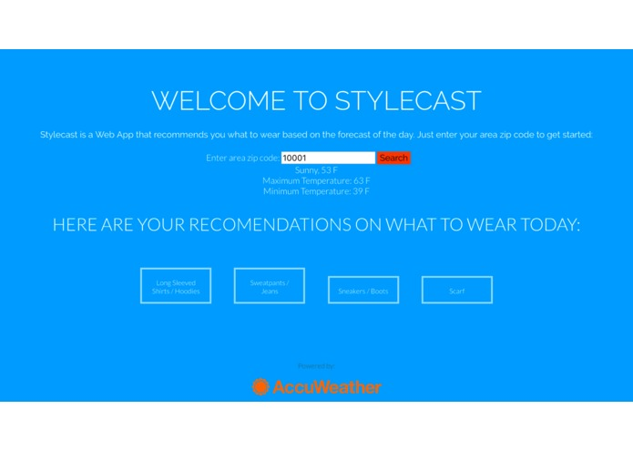 Stylecast – screenshot 2