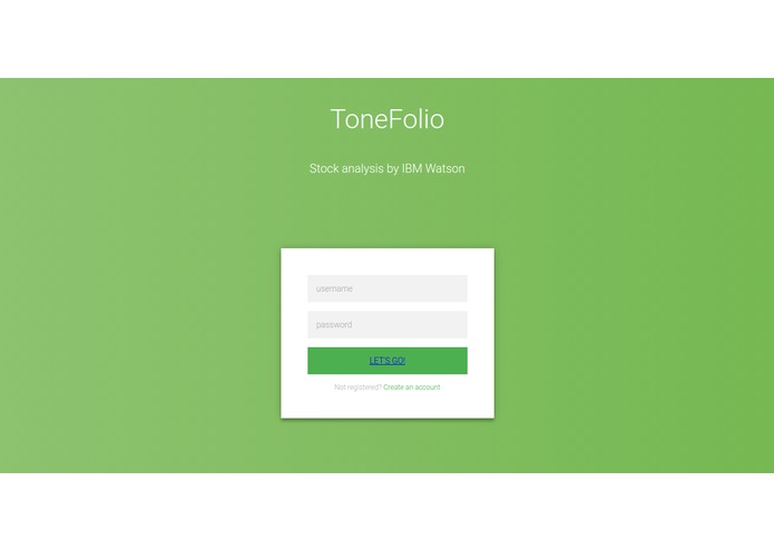 ToneFolio – screenshot 2