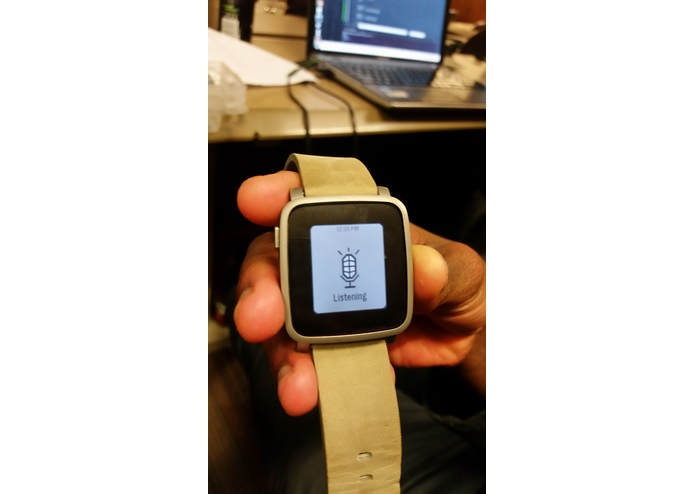 Pebble Activity Watch App (PACT) – screenshot 2