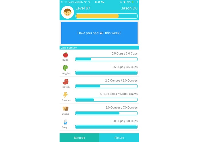 Nutrily – screenshot 1