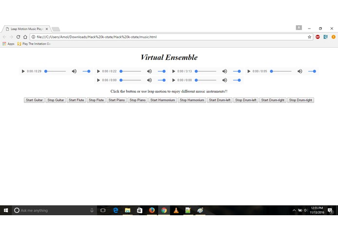 Virtual Ensemble – screenshot 1