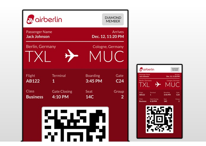 airberlin Personal Concierge – screenshot 3