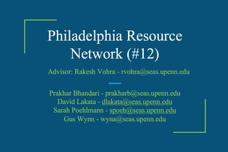 Philadelphia Resource Network