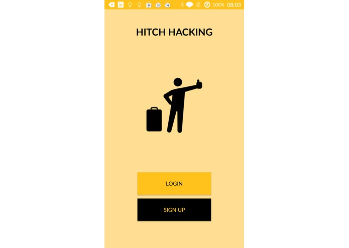 Hitchhacking – screenshot 1