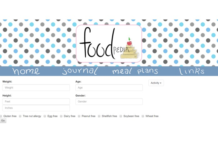 FOODpedia – screenshot 2