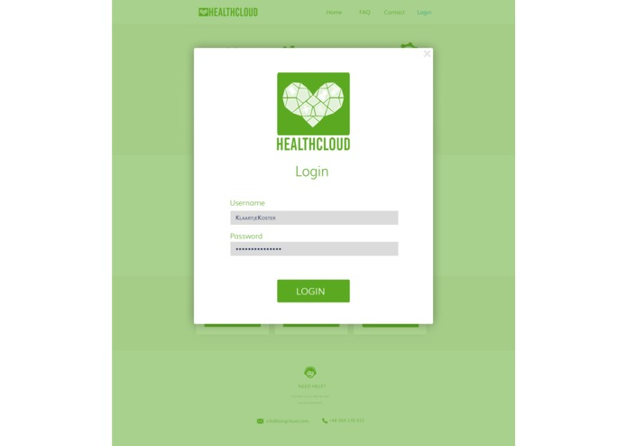 HealthCloud – screenshot 5