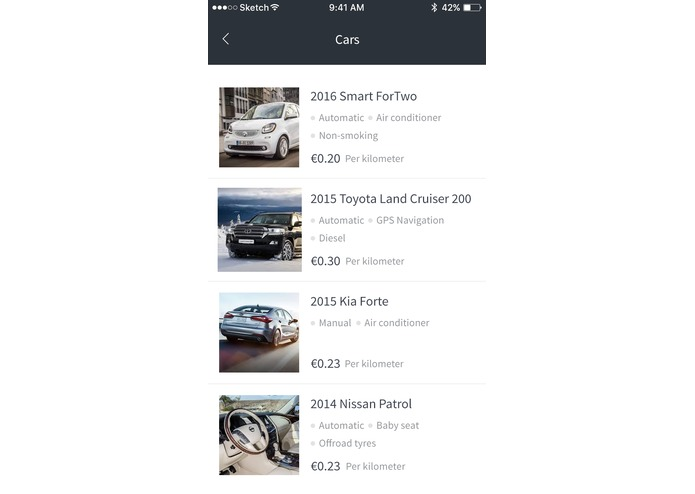 CarBuddy: P2P Carsharing – screenshot 2