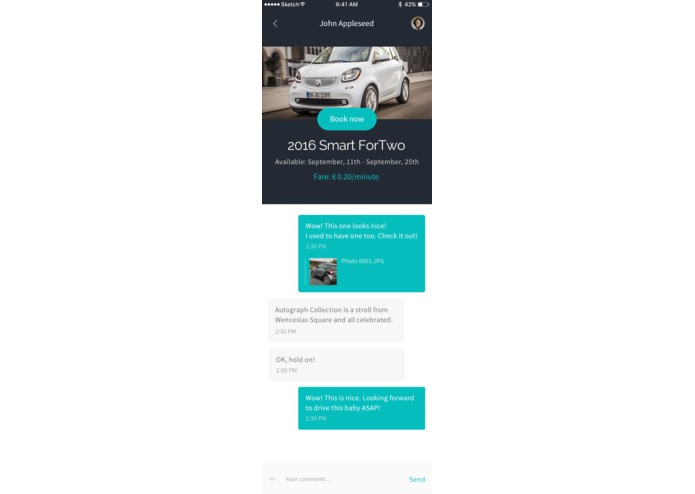 CarBuddy: P2P Carsharing – screenshot 3