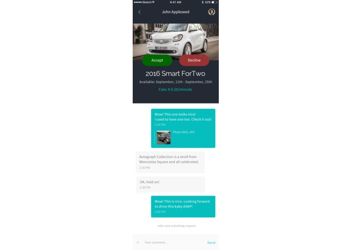 CarBuddy: P2P Carsharing – screenshot 5