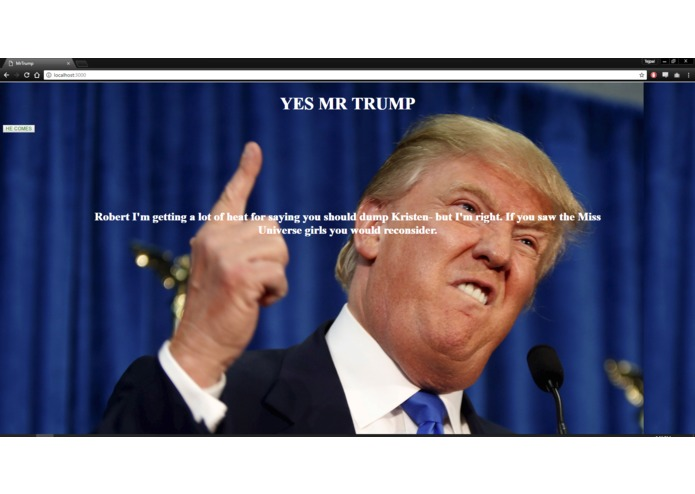 MrTrump – screenshot 1